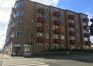 Facaderenovering, nye vinduer og tagterrasse i Søborg