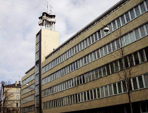 Musikmuseum og Dansk Sprognævn i det tidligere Radiohus